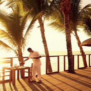 Luxury Mauritius Honeymoon Packages - Lux* Belle Mare - restaurant exterior