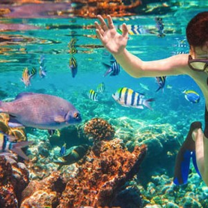 Luxury Mauritius Honeymoon Packages - Lux* Belle Mare - snorkeling