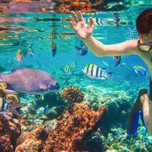 Luxury Mauritius Honeymoon Packages - Lux* Belle Mare - snorkeling