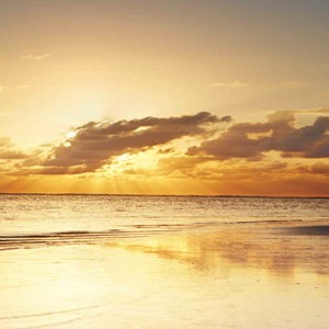Luxury Mauritius Honeymoon Packages - Lux* Belle Mare - sunset view