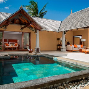 Maradiva Villas Resort & Spa - Luxury Mauritius Honeymoon Packages - Garden Suite Pool Villa exterior