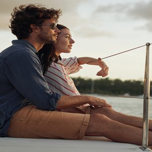 Mauritius Honeymoon Packages Paradise Cove Boutique Hotel Couple On Catamaran1