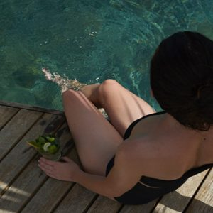 Mauritius Honeymoon Packages Paradise Cove Boutique Hotel Woman In Pool
