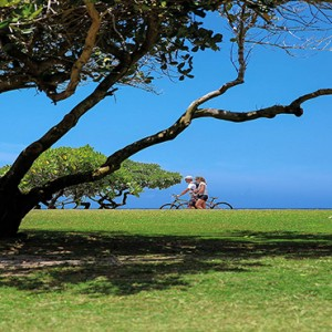 Mauritius Honeymoon Packages Shandrani Beachcomber Resort & Spa Bike Riding