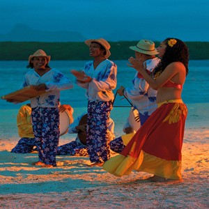 Mauritius Honeymoon Packages Shandrani Beachcomber Resort & Spa Dancers