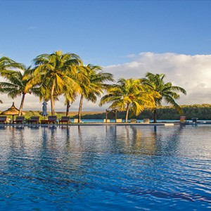 Mauritius Honeymoon Packages Shandrani Beachcomber Resort & Spa Infinity Pool