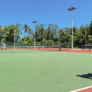 Mauritius Honeymoon Packages Shandrani Beachcomber Resort & Spa Tennis1
