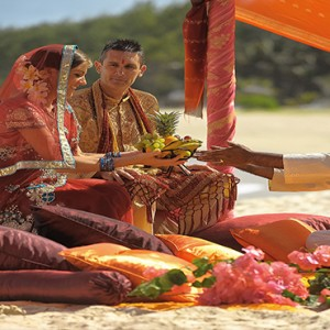 Mauritius Honeymoon Packages Shandrani Beachcomber Resort & Spa Wedding1
