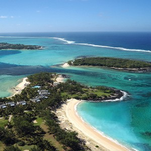 Mauritius Honeymoon Packages Shandrani Beachcomber Resort & Spa Aerial View1