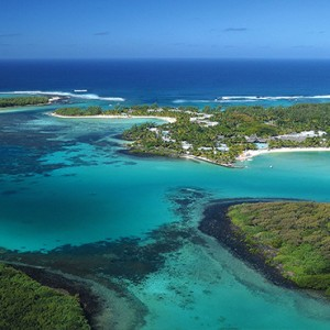 Mauritius Honeymoon Packages Shandrani Beachcomber Resort & Spa Aerial View2