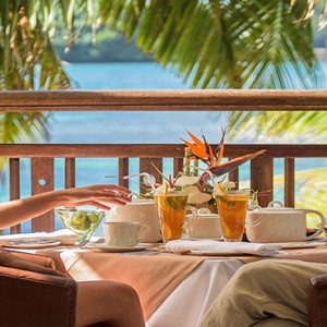 Mauritius Honeymoon Packages Shandrani Beachcomber Resort & Spa In Villa Dining