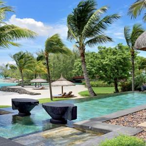 Mauritius Honeymoon Packages Shangri La's Le Touessrok Resort And Spa Beach Villa Terrace