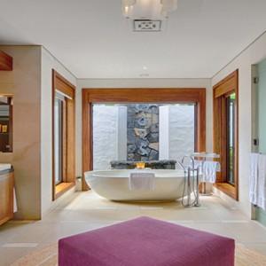 Mauritius Honeymoon Packages Shangri La's Le Touessrok Resort And Spa Beach Villa Bathroom