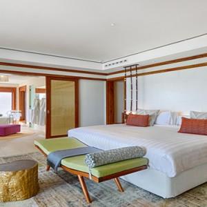 Mauritius Honeymoon Packages Shangri La's Le Touessrok Resort And Spa Beach Villa Bedroom