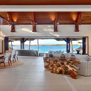 Mauritius Honeymoon Packages Shangri La's Le Touessrok Resort And Spa Beach Villa Living Room