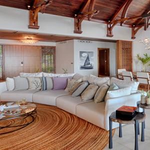 Mauritius Honeymoon Packages Shangri La's Le Touessrok Resort And Spa Beach Villa Living Room1