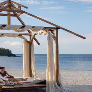 Mauritius Honeymoon Packages Shangri La's Le Touessrok Resort And Spa Beach Cabana