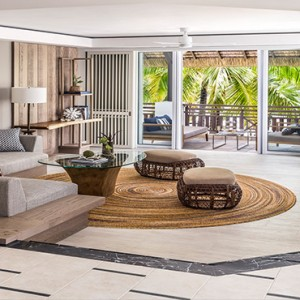 Mauritius Honeymoon Packages Shangri La's Le Touessrok Resort And Spa Deluxe Suite Living Area