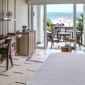 Mauritius Honeymoon Packages Shangri La's Le Touessrok Resort And Spa Deluxe Beach Access Bedroom