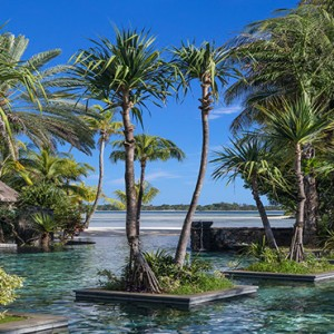 Mauritius Honeymoon Packages Shangri La's Le Touessrok Resort And Spa Frangipani Pool