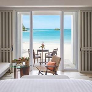 Mauritius Honeymoon Packages Shangri La's Le Touessrok Resort And Spa Junior Suite Hibiscus Beach Access Bedroom