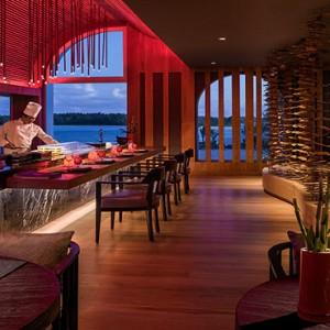 Mauritius Honeymoon Packages Shangri La's Le Touessrok Resort And Spa Kushi Restaurant