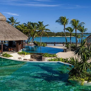 Mauritius Honeymoon Packages Shangri La's Le Touessrok Resort And Spa Main Pool Overview