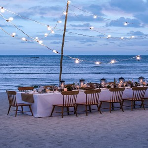 Mauritius Honeymoon Packages Shangri La's Le Touessrok Resort And Spa Private Beach Setup