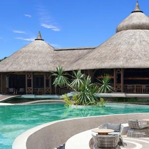 Mauritius Honeymoon Packages Shangri La's Le Touessrok Resort And Spa Safran Restaurantat Daytime