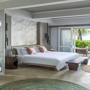 Mauritius Honeymoon Packages Shangri La's Le Touessrok Resort And Spa Shangri La Suite Bedroom