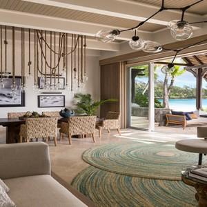 Mauritius Honeymoon Packages Shangri La's Le Touessrok Resort And Spa Shangri La Suite Living Area