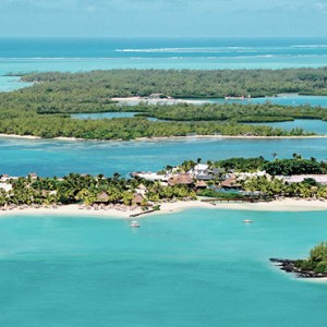 Mauritius Honeymoon Packages Shangri La's Le Touessrok Resort And Spa Aerial View