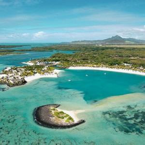 Mauritius Honeymoon Packages Shangri La's Le Touessrok Resort And Spa Aerial View1