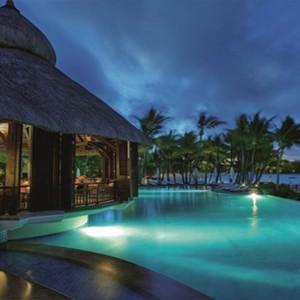 Mauritius Honeymoon Packages Shangri La's Le Touessrok Resort And Spa Sega Bar Exterior At Night