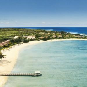 Mauritius Honeymoon Packages Shanti Maurice Resort & Spa Aerial View