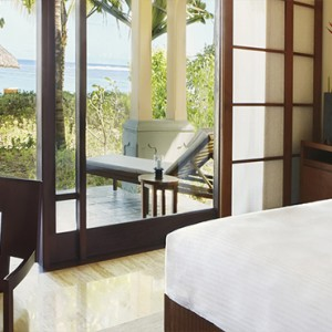 Mauritius Honeymoon Packages Shanti Maurice Resort & Spa Junior Suite Beach Access Bedroom