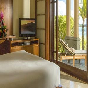 Mauritius Honeymoon Packages Shanti Maurice Resort & Spa Junior Suite Beachfront Bedroom