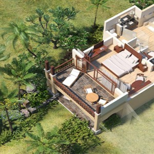 Mauritius Honeymoon Packages Shanti Maurice Resort & Spa Junior Suite Ocean View Overview