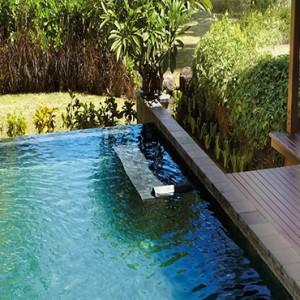 Mauritius Honeymoon Packages Shanti Maurice Resort & Spa Luxury Pool Villa Outdoor Pool