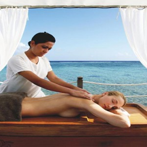 Mauritius Honeymoon Packages Shanti Maurice Resort & Spa Spa Massage By The Ocean