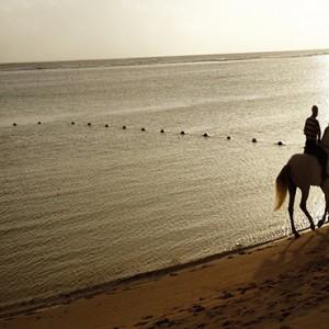 Mauritius Honeymoon Packages Shanti Maurice Resort & Spa Horse Riding On Beach