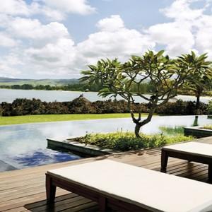 Mauritius Honeymoon Packages Shanti Maurice Resort & Spa Villa Pool Terrace