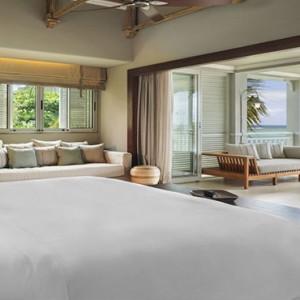 Mauritius Honeymoon Packages St Regis Mauritius Beachfront Junior Suite