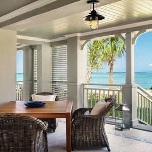 Mauritius Honeymoon Packages St Regis Mauritius Beachfront St. Regis Grand Suite Dining Area