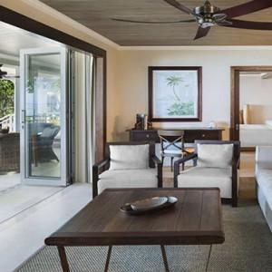 Mauritius Honeymoon Packages St Regis Mauritius Beachfront St. Regis Grand Suite Living Area