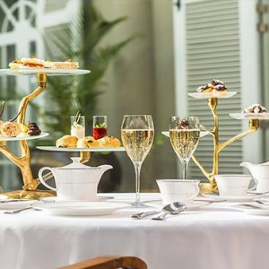 Mauritius Honeymoon Packages St Regis Mauritius Champagne And Afternoon Tea