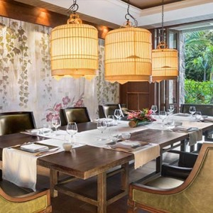 Mauritius Honeymoon Packages St Regis Mauritius Floating Market Dining Room