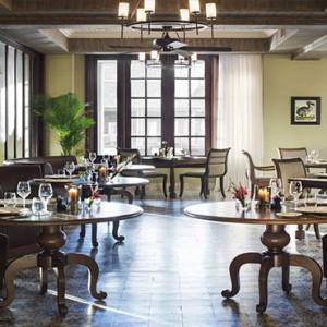 Mauritius Honeymoon Packages St Regis Mauritius Le Manoir Dining Room