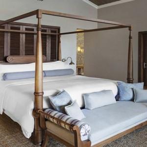 Mauritius Honeymoon Packages St Regis Mauritius Ocean View Grand Manor House Suite Bedroom