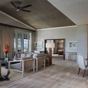 Mauritius Honeymoon Packages St Regis Mauritius Ocean View Grand Manor House Suite Living Room